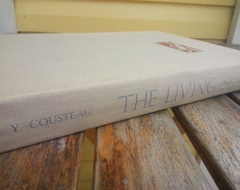 The Living Sea Book - Jacques Cousteau - 1963 (First Edition)