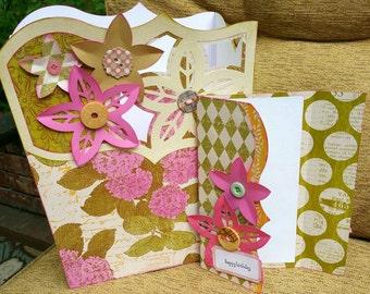 Birthday Card and Gift Box