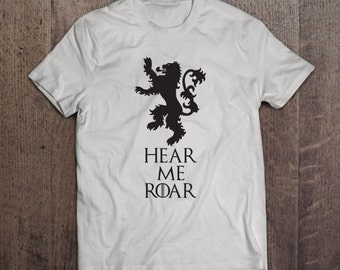 Hear Me Roar - House Lannister Sigil - Game of Thrones T-shirt
