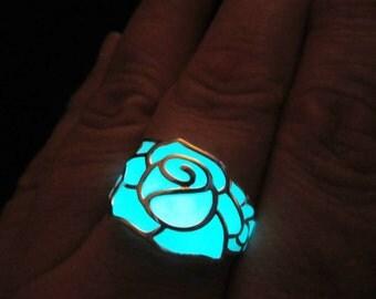 Rose ring Glow in the dark