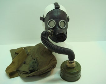 xsmall gas mask with filter bag