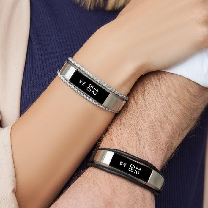 bracelet aurel fitbit alta alta hr jewelry silver. Black Bedroom Furniture Sets. Home Design Ideas