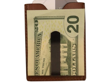 Leather Money Clip/Magnetic Wallet