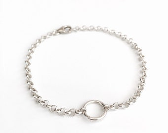 Silver bracelet, perfect bridesmaids gift, unique jewelry, gift for her