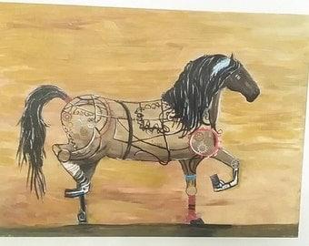Brown Horse Mechanics