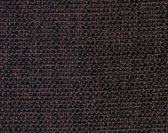 Home Decor Upholstery Fabric By the Yard Woven Canvas Plain black color linen burlap Custom Made TR10