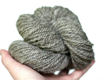 Handspun Shetland - Natural Color - Worsted Yarn
