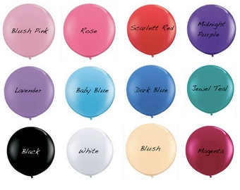 Giant 36 Inch Balloons // Pink Your Color // Decorative Balloon