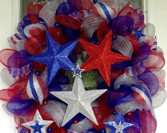 Patriotic wreath!