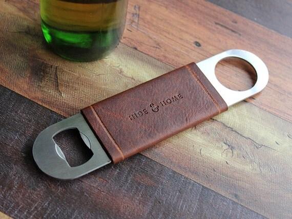 bottle opener bar blade with leather jacket. Black Bedroom Furniture Sets. Home Design Ideas
