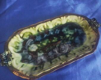 Vintage Porthmadog Pottery Rectangle Dish/Tray