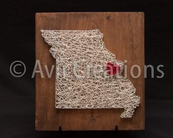 State String Art