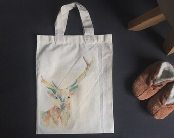 Mini Stag Tote Bag