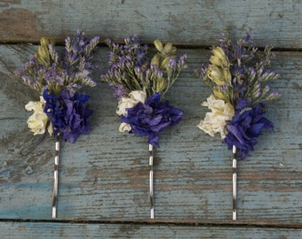 Provence Hair Grips Set of 3