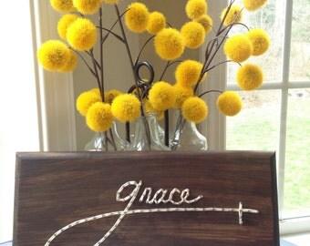 Grace string art board