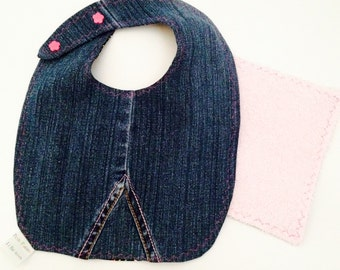 Reversible bib in all of the Collection Raphil