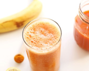 Carrot Ginger Turmeric Smoothie Mix
