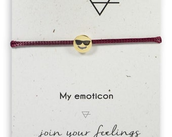 Cool emoticon charm