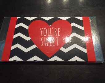 Valentine Notepad hard cover book