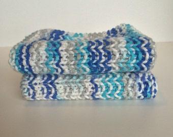 knit dishcloth / boho decor / knitted dishcloth / knit washcloth / cotton dishcloth / cotton washcloth / sale / gifts under 10