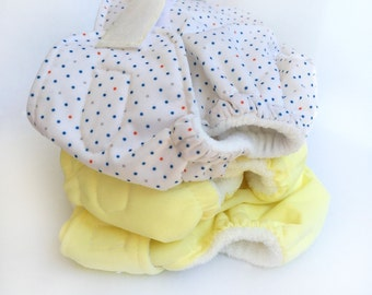 Set of 3 Cloth Diapers
