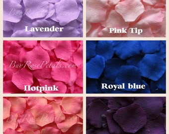 500 Floating Rose Petals - Floating Silk Rose Petals for Weddings