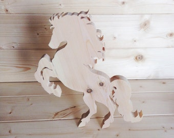 Rearing Horse Standing Ornament | Horse lover gift