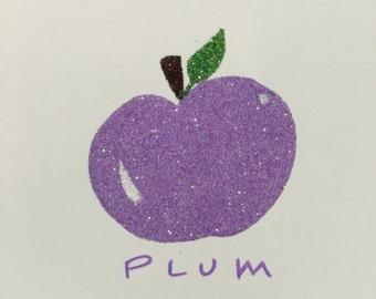 Glitter Plum