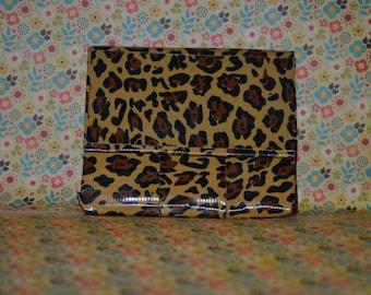 Leopard Print Duck tape Wallet