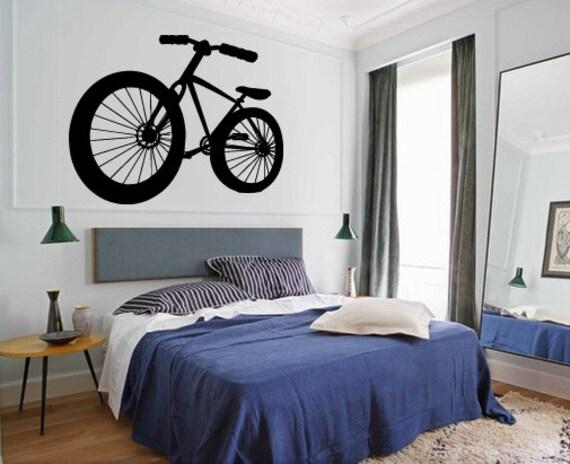 Wall Decal Sticker Bedroom Nursery BMX Bicycles Ride Sport