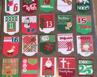 Handmade Advent Calendar for the Christmas Season!