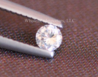 Nice Loose Diamond - Round Natural Diamonds - High Cut Polished - Great Clarity - Conflict Free Diamond