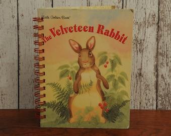 The Velveteen Rabbit- A Little Golden Book/Altered Book/Journal/Junk Journal/Sketchbook