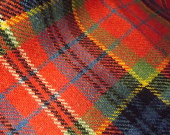 Tartan Tweed Placemat, Scottish Vintage ( 4 av)