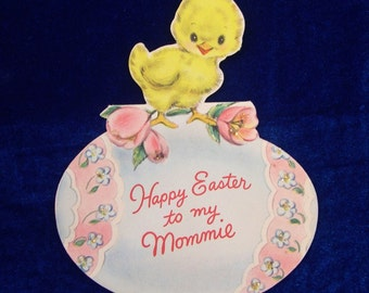 1953 Baby Chick Easter Card
