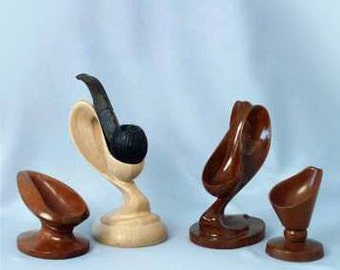 Stand for a smoke pipe,wood stand,smoke pipe,wood carving,handmade