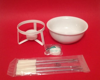 1960's Fondue Set - New: Never Been Used!