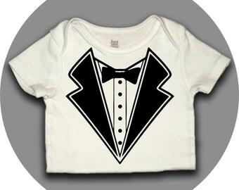 Baby's Tuxedo Onesie - Formal Onesie