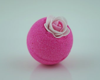Romance Bath Bomb; All Natural Aromatherapy Fun and Colorful Bath Bomb; 2.5oz 4oz or 7oz  Life Around 2 Angels