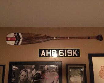 Wooden Decorative Canoe Paddle