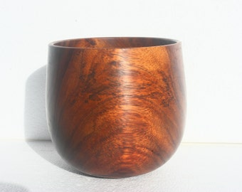 "Hawaiian Koa Wood Bowl, 6"" diameter by 5.75"" high"