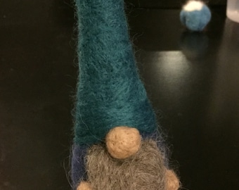 Small Needle Felted Gnome
