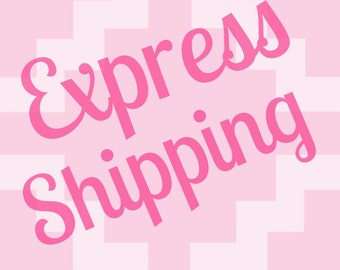 Upgrated shipping to overnight. 24hour priority ship. Express 24 hour delivery upgrade.