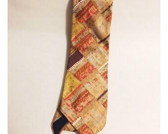 Vintage Ruffler Mens Tie