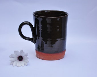Brown Terracotta Mug
