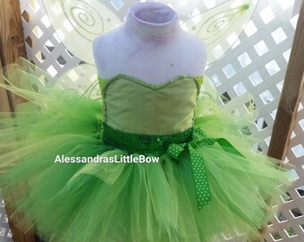 tinker bell tutu dress, tinker bell birthday outfit, fairy birthday dress tinker bell halloween costume disney trip princess dress butterfly