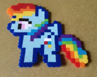 Rainbow Dash - Perler