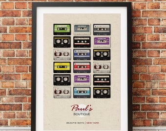 "Original Print Inspired by The Beastie Boy's ""Paul's Boutique"""