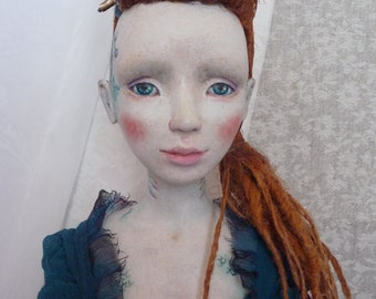 OOAK Boudoir doll Ondine.