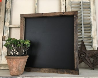 Gorgeously stunning wood framed chalk board